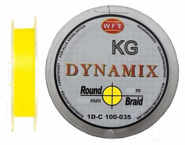 WFT Round Dynamix KG Neon Gelb 300m