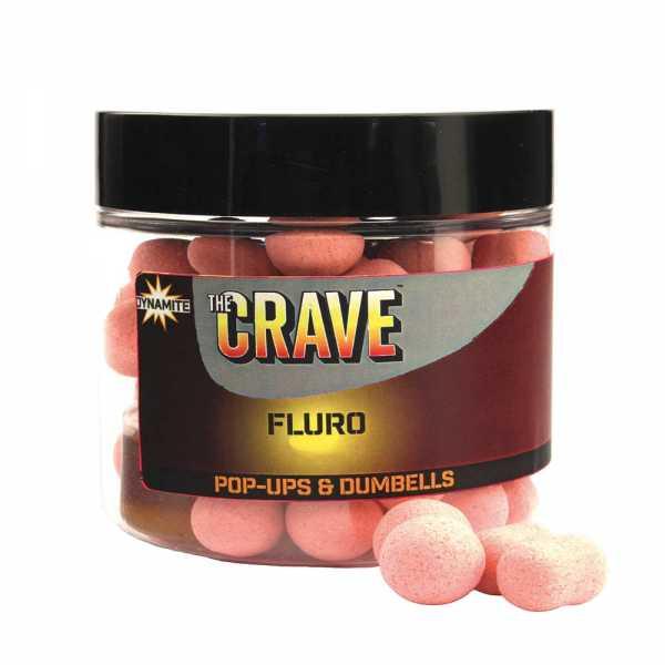 Dynamite Baits The Crave Fluro Pop-Ups & Dumbells Pink