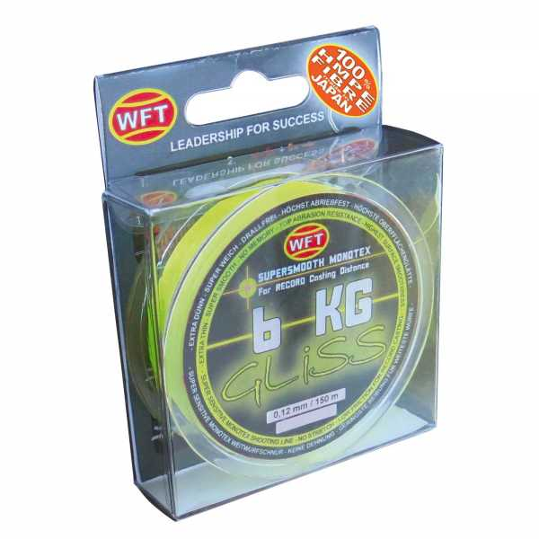 WFT GLISS KG Monotex Schnur Yellow