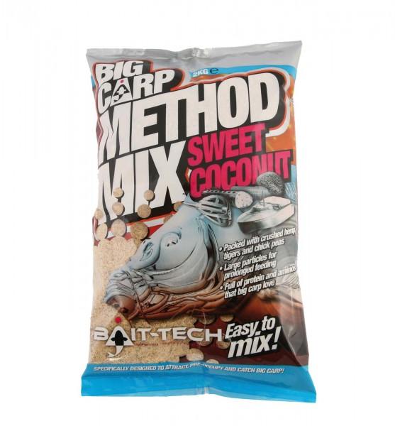 Bait Tech Big Carp Method Mix Sweet Coconut 2kg