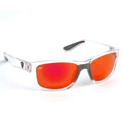 Fox Rage Sunglasses Camo Frame Grey Lens Mirror Blue NSN004 Polbrille Brille