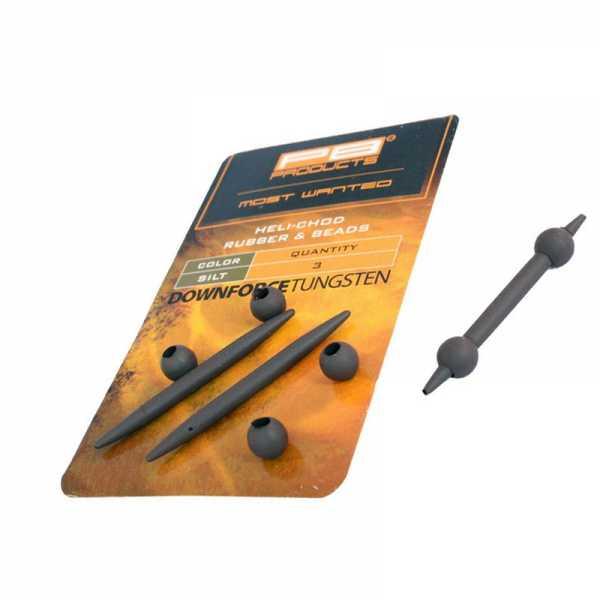 DTR Heli-Chod Rubber Beads Silt