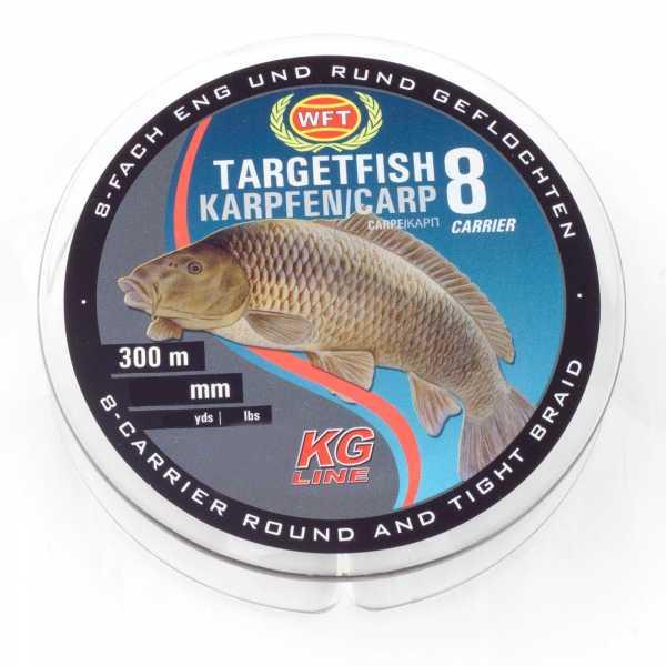 WFT Target Fish 8 TF8 Braided Line Karpfen