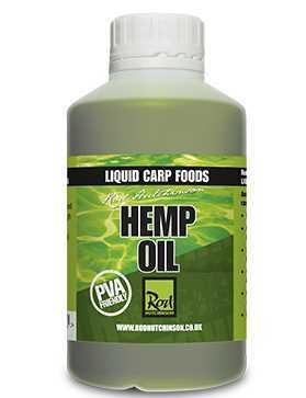 Rod Hutchinson Liquid Carp Food Hemp Oil