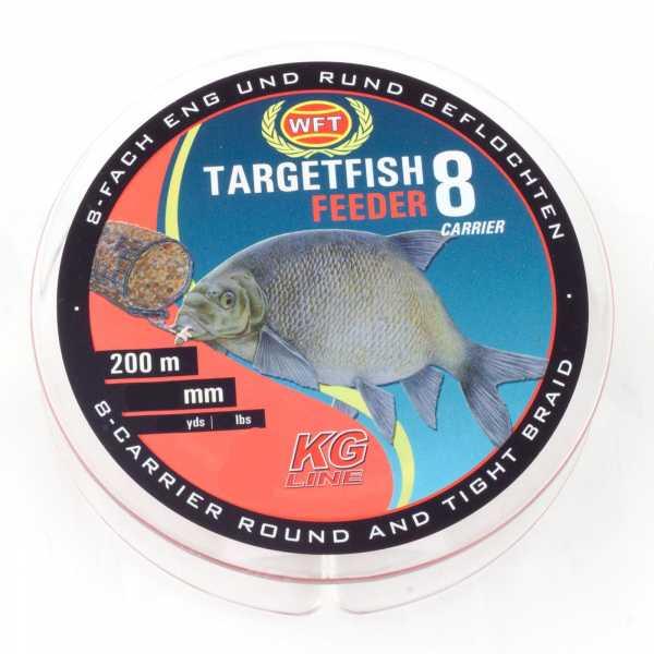 WFT Target Fish 8 TF8 Braided Line Feeder
