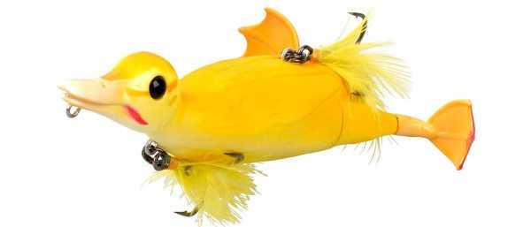 3D Suicide Duck Yellow