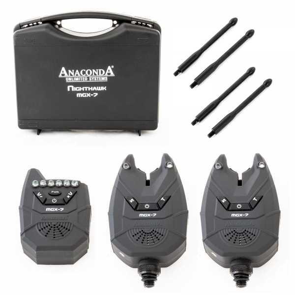 Nighthawk MGX-7 Funkbissanzeiger 2er Set