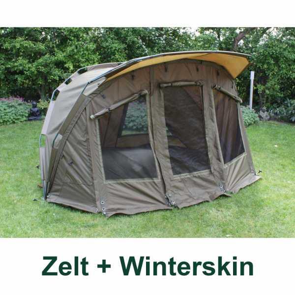 1178604 All Weather Dome Zelt plus Winterskin