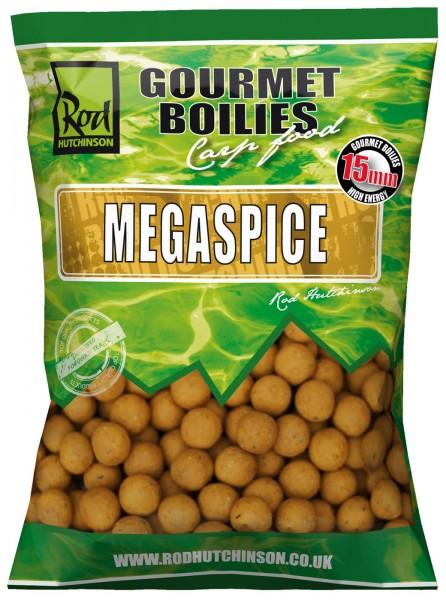 Rod Hutchinson Megaspice 1kg Gourmet Boilies