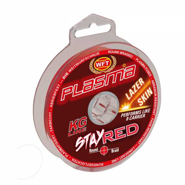 WFT KG Plasma Stay Red Lazer Skin 150m