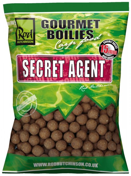 Rod Hutchinson Secret Agent 1kg Gourmet Boilies