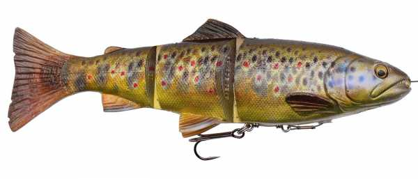 Line Thru Trout Dark Brown Trout