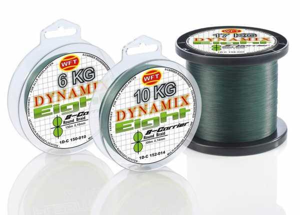 WFT KG Dynamix 8 Round Braid Grün 150m