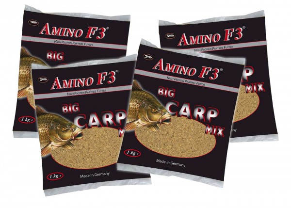 Sänger AMINO F3® Big Carp Mix 4kg Yellow