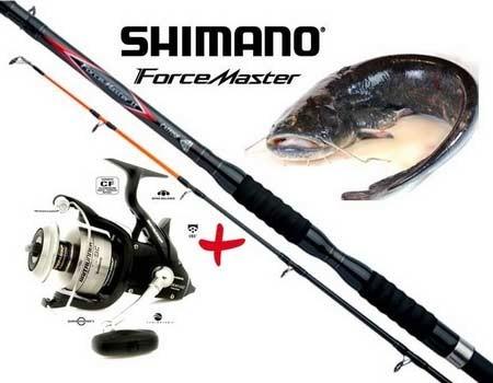 ForceMaster AX Catfish 330H2 + Baitrunner 12000 US OC