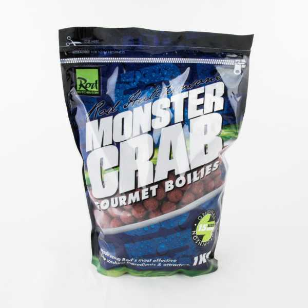 Rod Hutchinson Gourmet Boilies 1kg Monster Crab