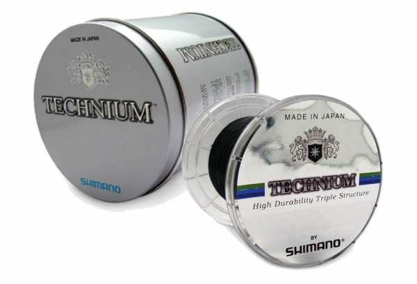 Shimano Technium Schnur in Metallbox