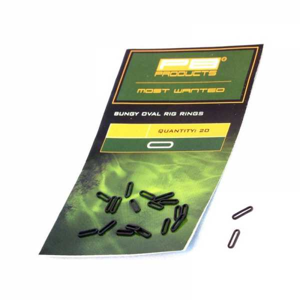 Bungy Rig Oval Rings 20stk