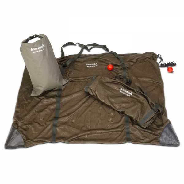 Karpfensack Set mit Marker Boje und Dry Bag