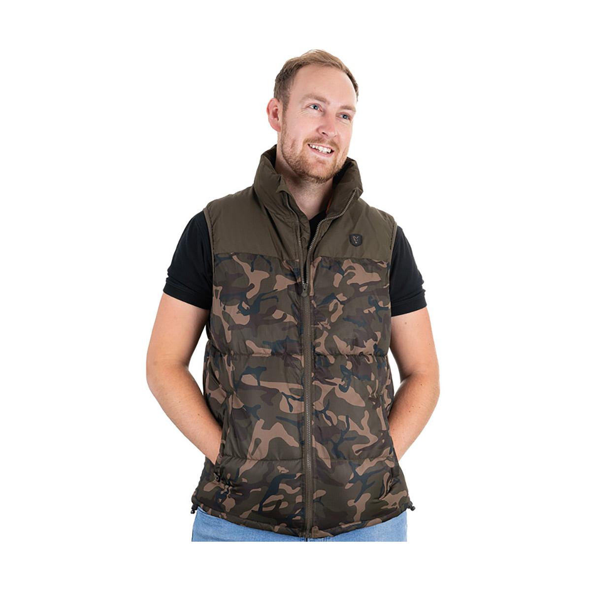 Angeljacke f/ür Karpfenangler Angelbekleidung Fox Camo//Khaki RS Jacket Winterjacke f/ür Angler Gr/ö/ße:XXXL
