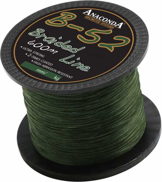 Anaconda B-52 Braided Line 600m