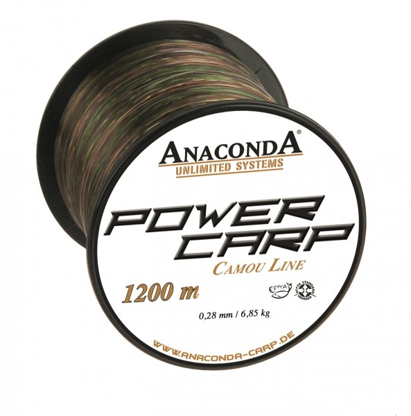 Anaconda Power Carp Cast Camou 1200m
