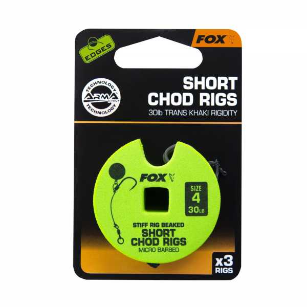 Edges Armapoint Short Chod Rigs mit Widerhaken
