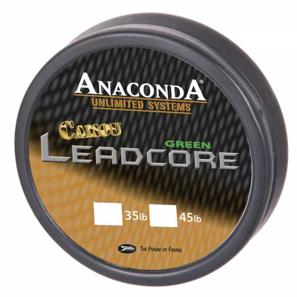 Anaconda Camou Leadcore Camou Green 10m