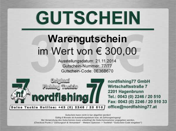 300 Euro Angelgutschein