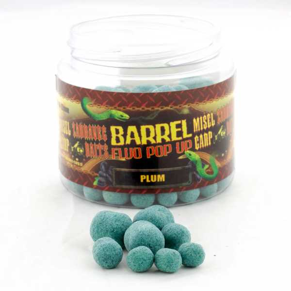 ZW Barrel Fluo Pop-Ups Plum