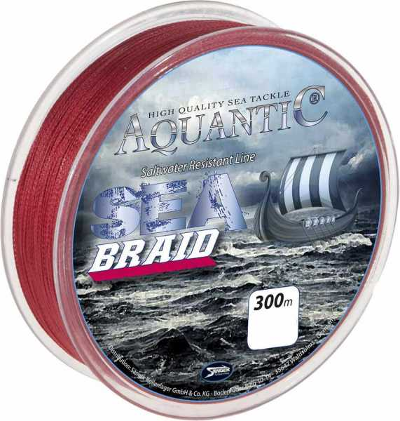 Aquantic Sea Braid 300m Rot
