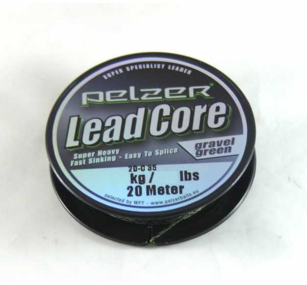 Pelzer Lead Core Gravelgreen 20m