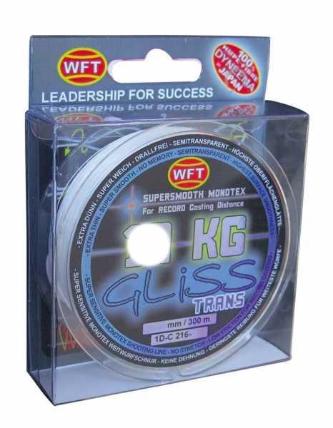 WFT GLISS KG Monotex Schnur Transparent